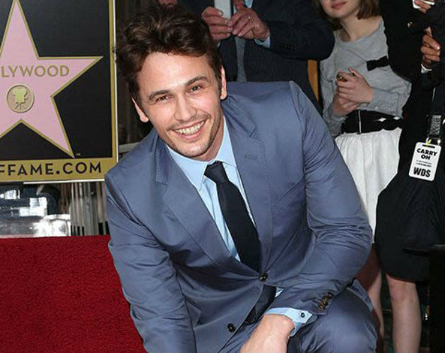 James Franco recibe su propia estrella en el Paseo de la Fama de Hollywood