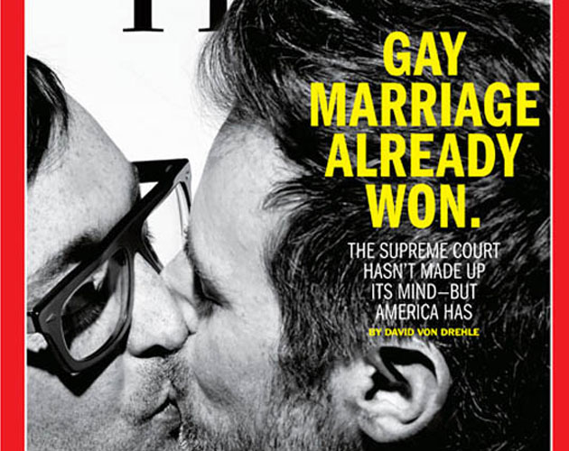 """El matrimonio gay ya ha ganado"": portada de Time"