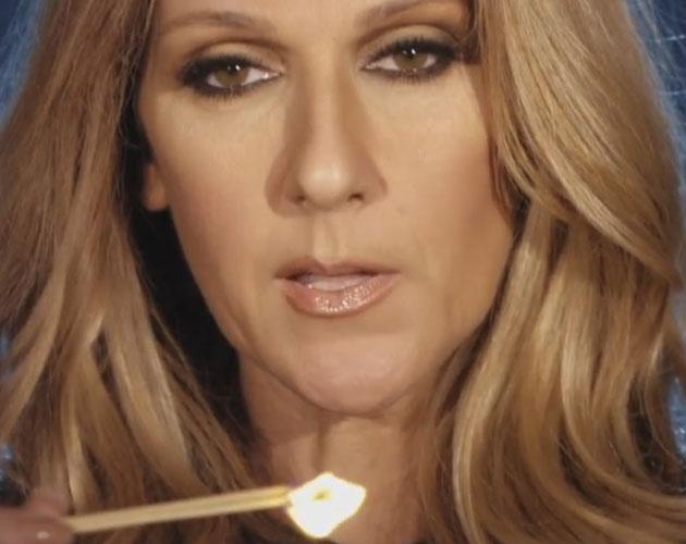 Celine Dion cerilla