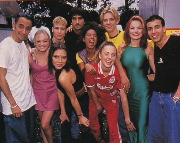 Spice Girls hablan de colaborar con Backstreet Boys