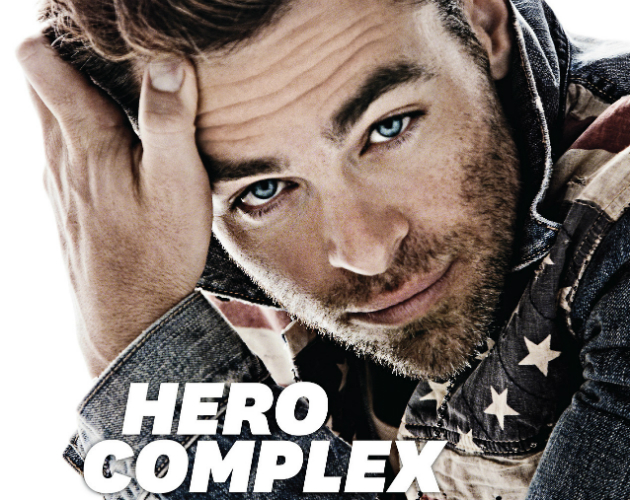 Chris Pine, sexy nerd en la revista 'Out'