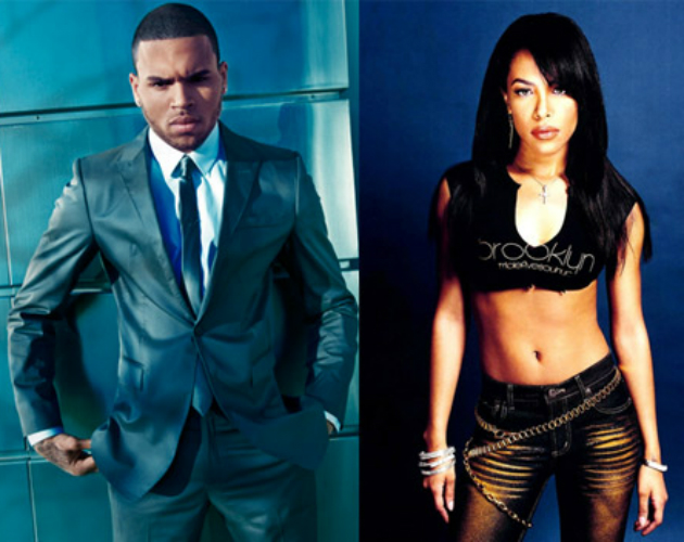 Chris Brown usará un tema inédito de Aaliyah en su nuevo single