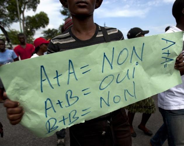 Haití marcha antigay