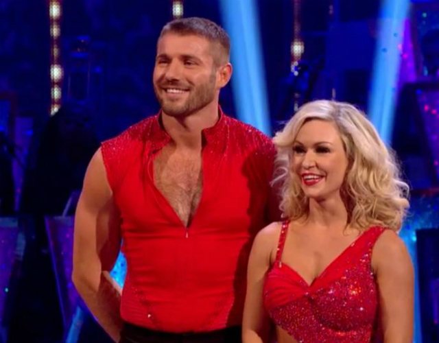Las fotos de Ben Cohen descamisado en su primera semana en 'Strictly Come Dancing'