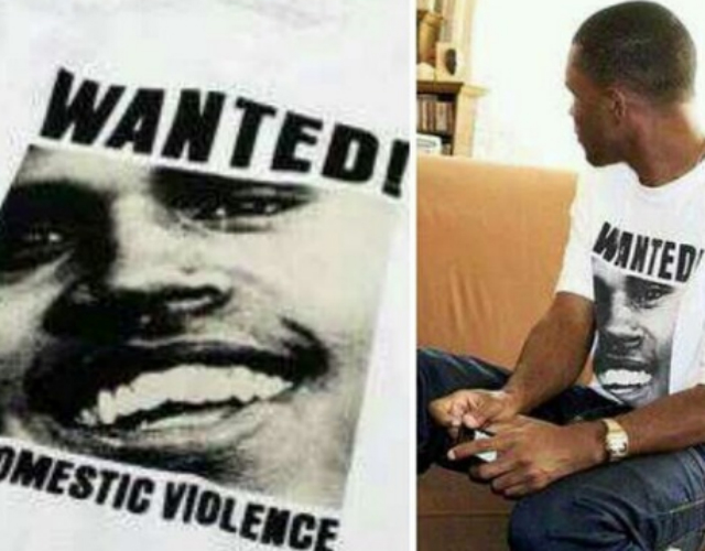 Frank Ocean enciende la mecha con una camiseta anti Chris Brown