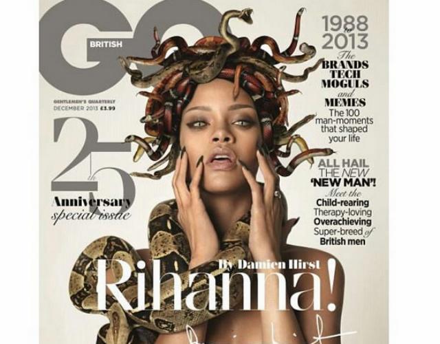 Rihanna Desnuda A Lo Medusa En La Portada De Gq