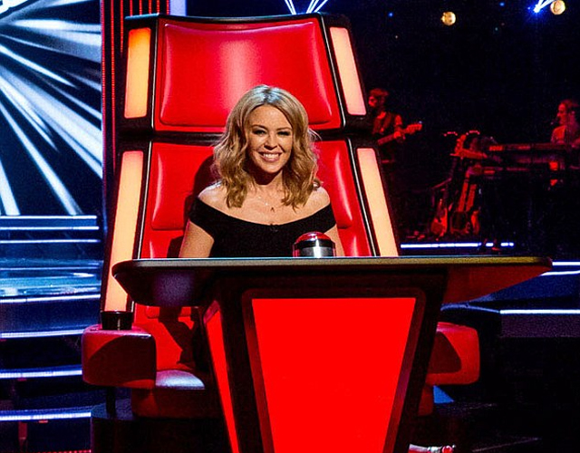 Kylie Minogue, confirmada también en 'The Voice' Australia