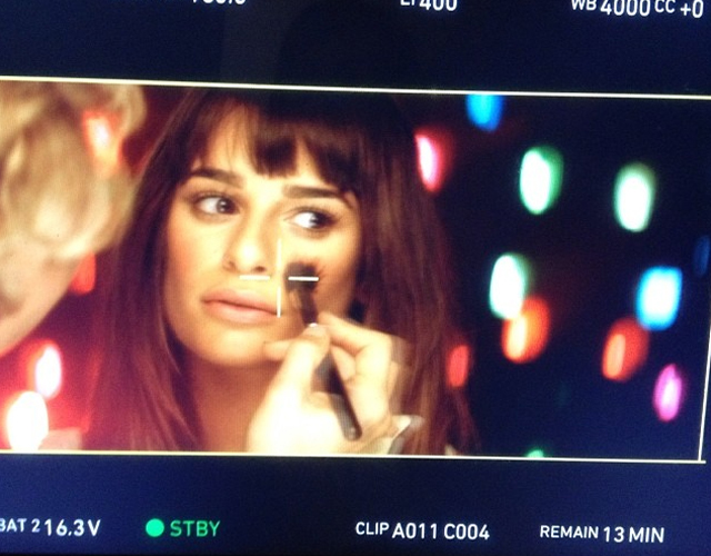 Lea Michele graba vídeo para su primer single