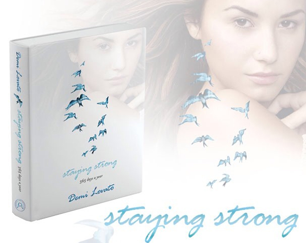 'Staying Strong', el libro de Demi Lovato y sus tuits, es un best seller