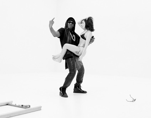 Lady Gaga y R Kelly en la primera imagen del vídeo de 'Do What U Want'