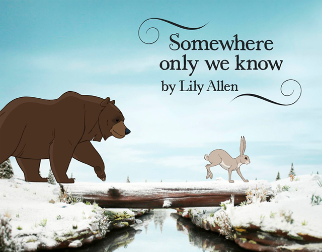 Lily Allen estrena vídeo para 'Somewhere Only We Know'