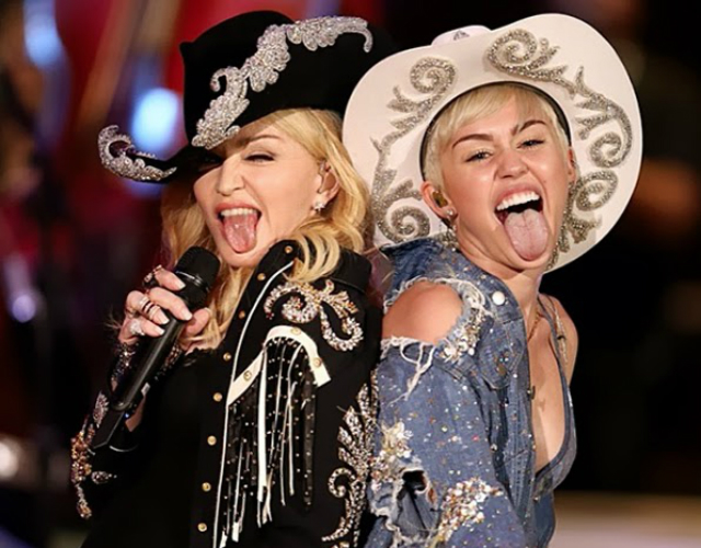Madonna y Miley Cyrus - 'Don't Tell Me' X 'We Can't Stop'