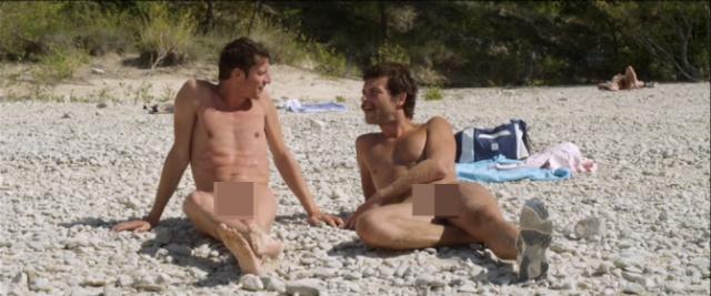 Desnudos masculinos gay en las playas