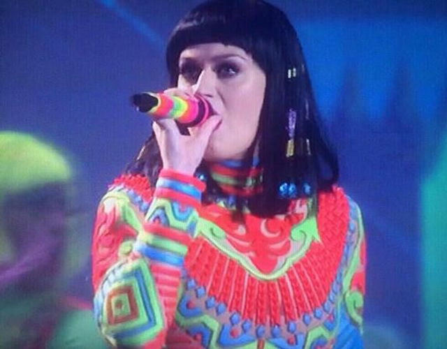Katy Perry Brits 2014