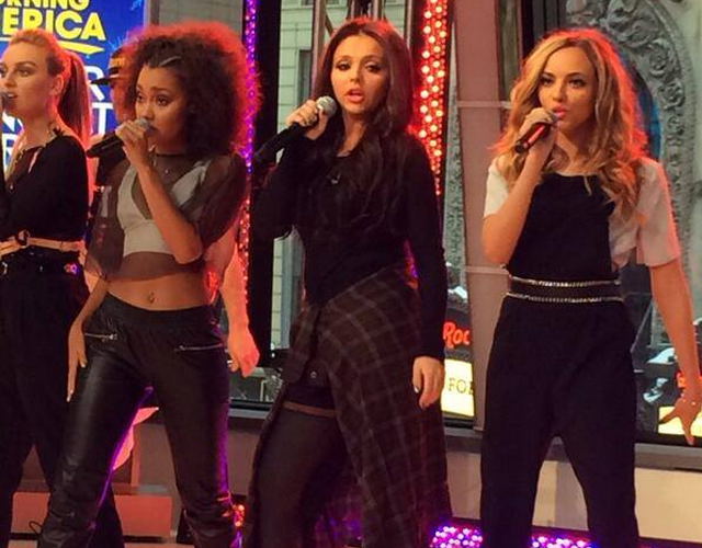 Little Mix promocionan 'Move' y 'Salute' en América