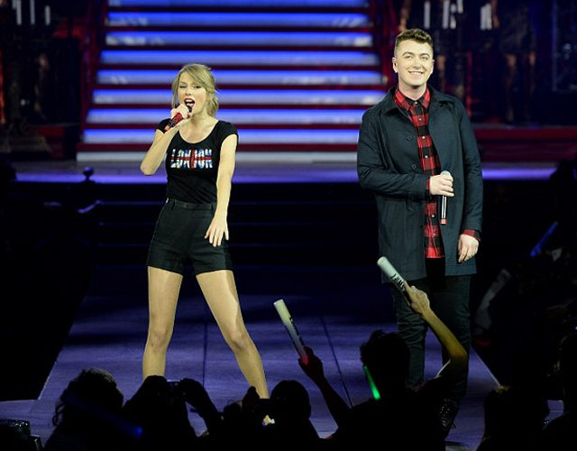 Taylor Swift canta con Sam Smith 'Money On My Mind'