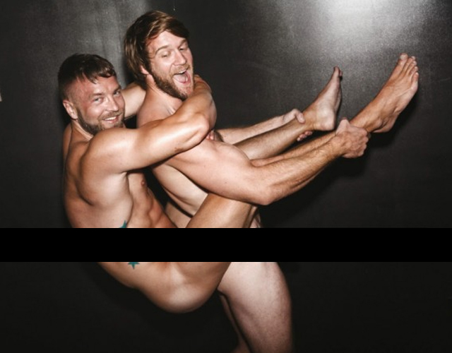 Colby Keller y Will Wikle, desnudos integrales
