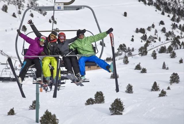 Andorra, un paraíso de esquí de 300 km de pistas