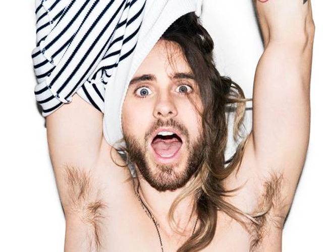 Nuevas fotos de Jared Leto sin camiseta obra de Terry Richardson