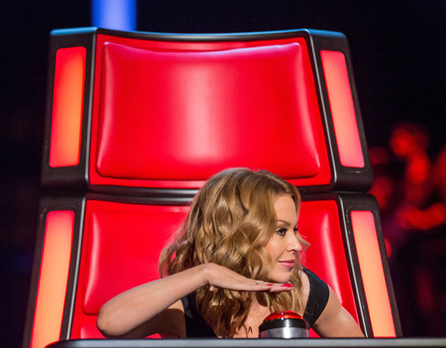 Kylie abandona 'The Voice' UK
