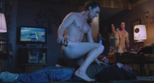 Matthew Goode un hombre desnudo