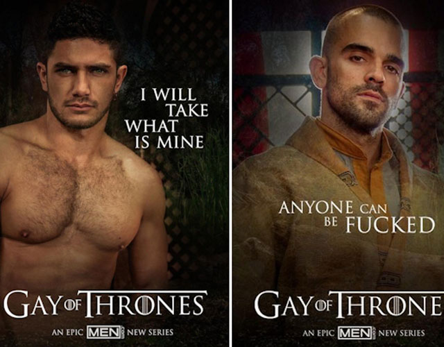 'Gay Of Thrones', parodia porno gay de 'Game Of Thrones'