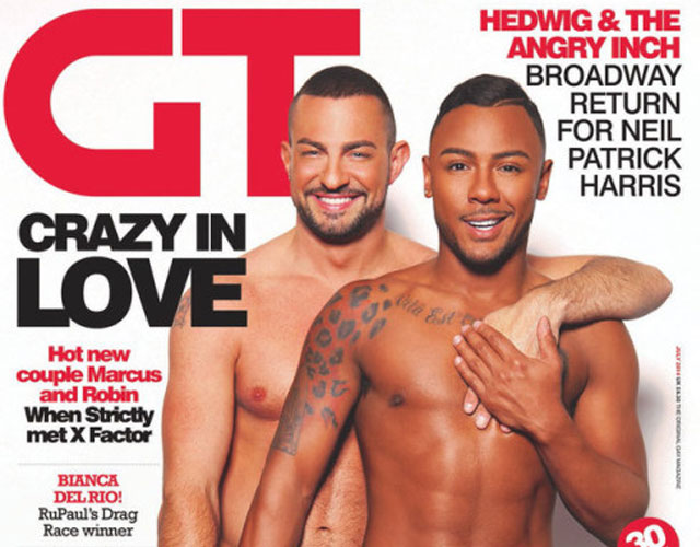 Marcus Collins de 'X Factor' y Robin Windsor, ¿primera pareja gay en 'Strictly Come Dancing'?