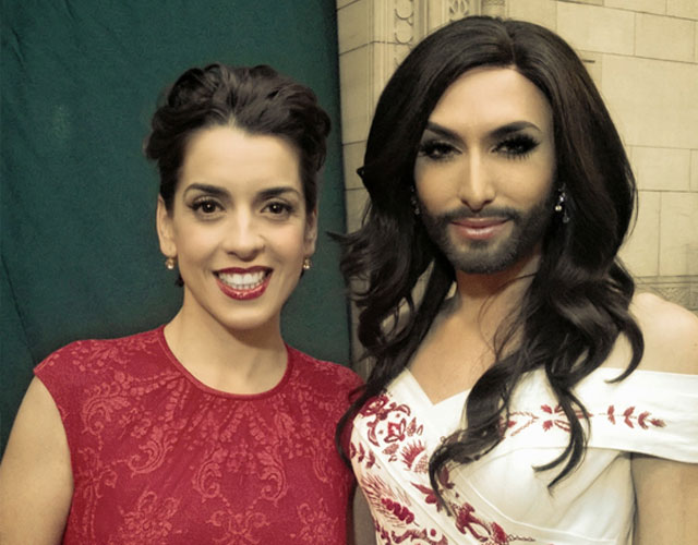 Ruth Lorenzo y Conchita Wurst, pregoneras del Orgullo Gay Madrid 2014