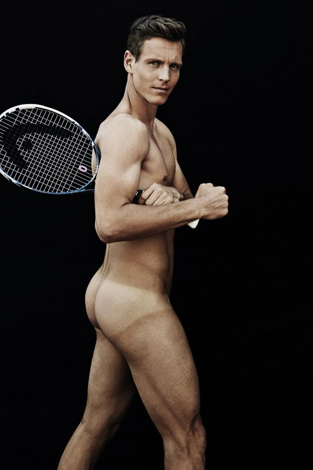Tomas Berdych desnudo