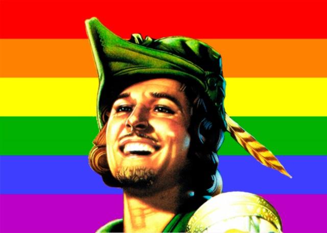 Gay man gagging