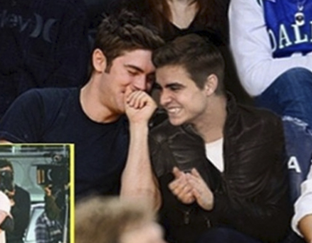 James Franco bromea con que Zac Efron es gay y sale con su hermano Dave