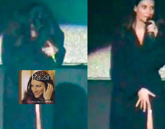 Laura Pausini sin bragas