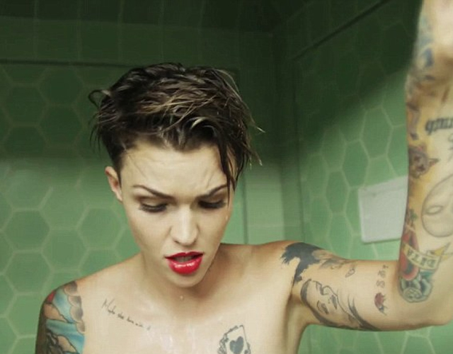 Ruby Rose, modelo que se transforma en hombre en 'Break Free'