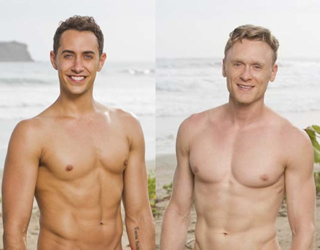 Josh y Reed: pareja gay de Broadway a 'Survivor'