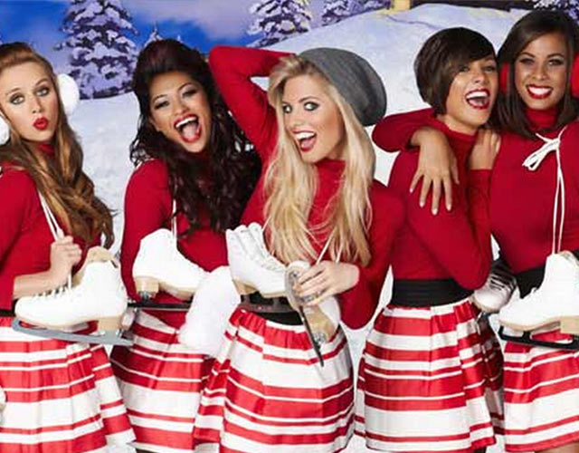 The Saturdays disco Navidad