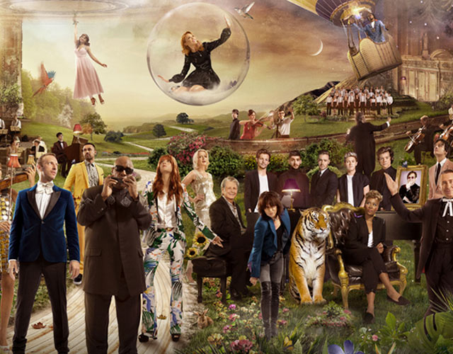 'God Only Knows', single benéfico con Kylie, One Direction, Lorde, Pharrell y otros 20 artistas más