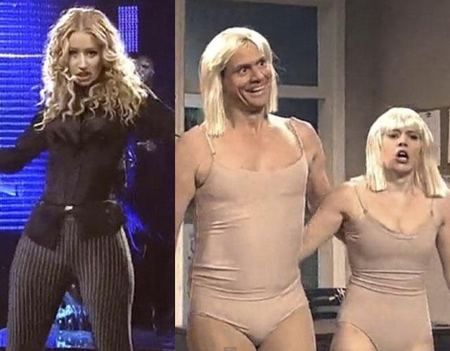 Iggy Azalea Imita A Sia Junto A Jim Carrey Cromosomax