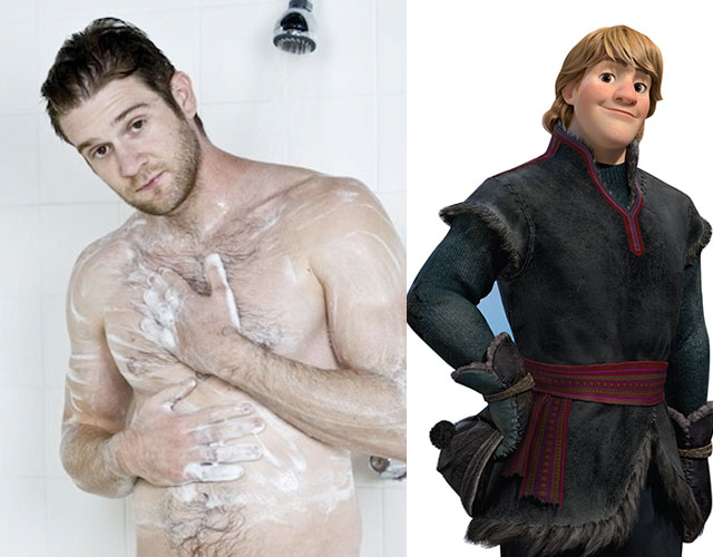 El protagonista de 'Frozen' ¿un actor porno gay?
