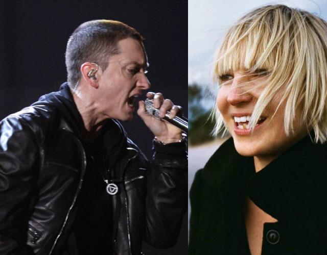 Sia canta con Eminem en su nuevo single 'Guts Over Fear ...