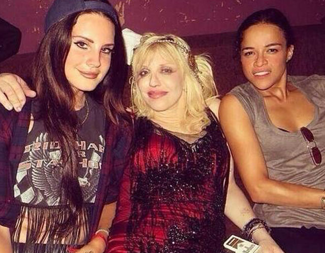 Courtney Love y Lana del Rey trabajan juntas