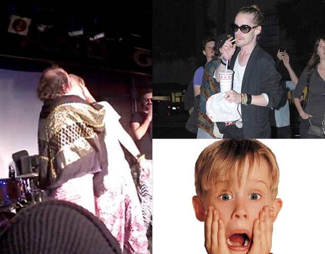 El beso gay de Macaulay Culkin con Har Mar Superstar