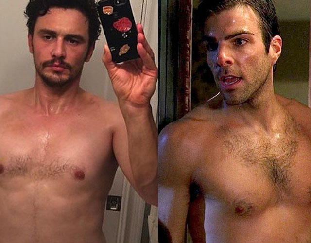 Zachary quinto topless 3