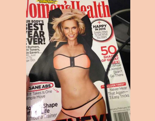 Britney Spears, portada de 'Women's Health'