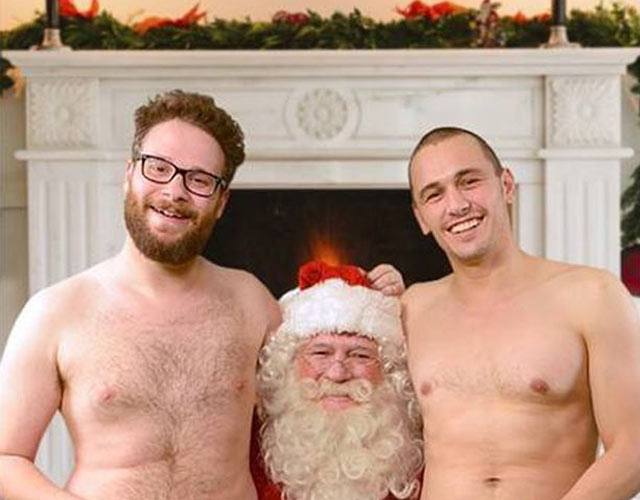 Seth Rogen y James Franco desnudos otra vez en 'Saturday Night Live'