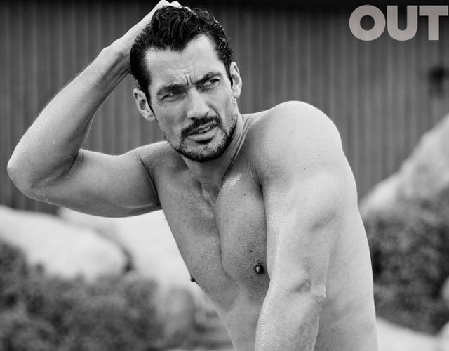 David Gandy desnudo para Out Magazine