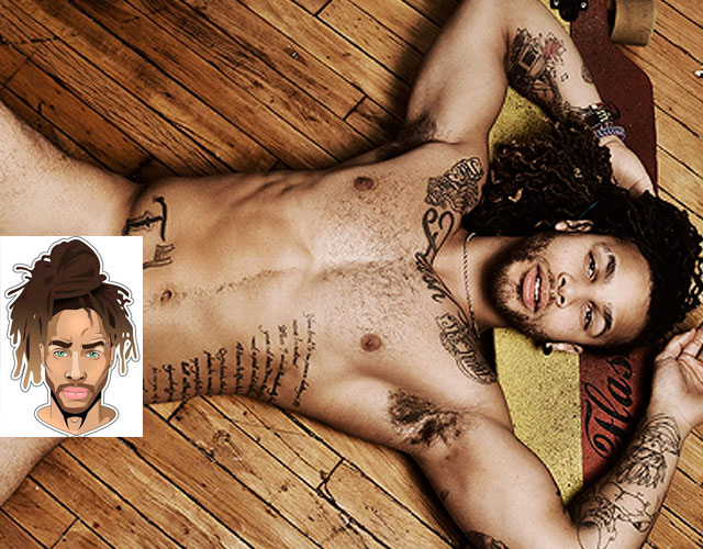 Modelo masculino desnudo gig in fl