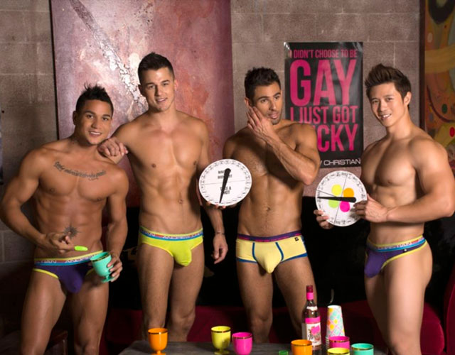 Hombres desnudos Andrew Christian Ab-stract