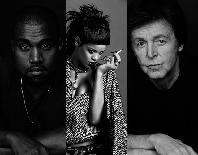 Rihanna, Kanye West y Paul McCartney han grabado juntos una canción