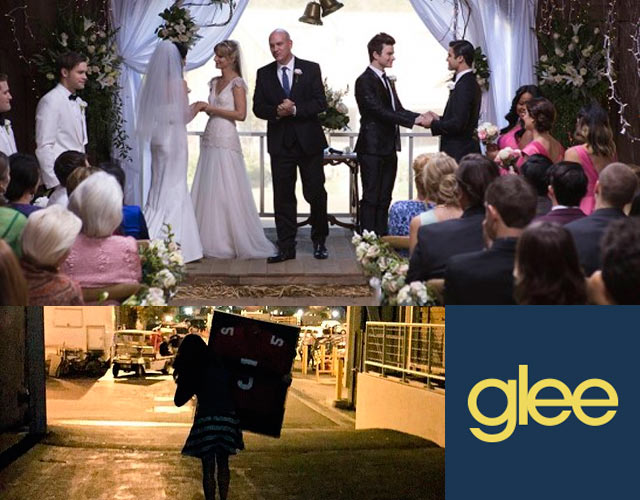 'Glee' se acerca a su final con doble boda gay y la emotiva despedida de Lea Michele