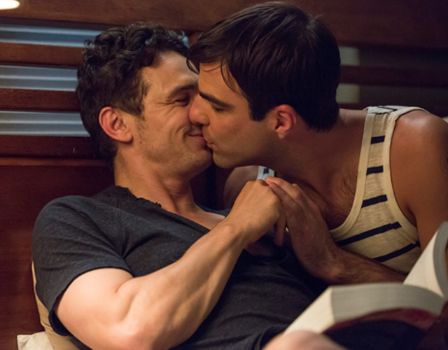 James Franco es gay en el arte y hetero en la vida
